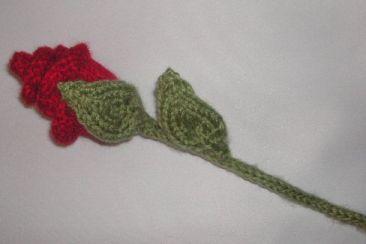 free knitted flower pattern knittinggalore