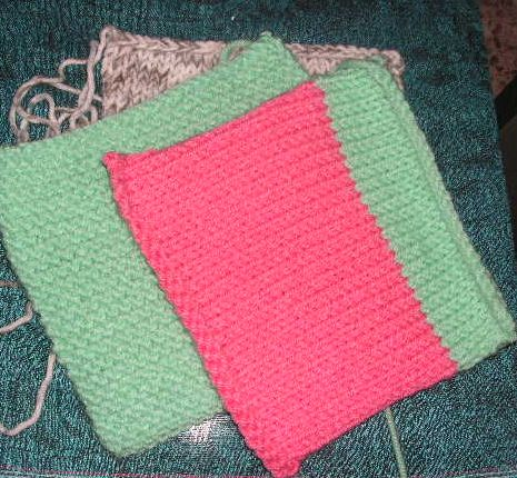 How To Loosen Knitting Stitches : knitted blankets knittinggalore