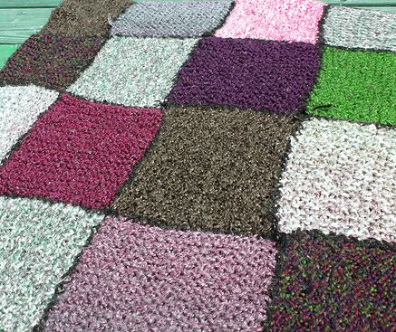 Knitting Patterns Squares : knit a square knittinggalore