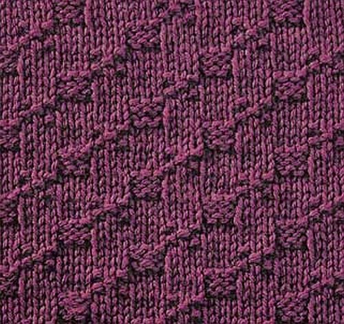 Knitting Stitches How To : seed stitch knittinggalore