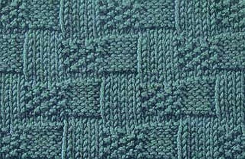 Basket Weave Stitch Knittinggalore
