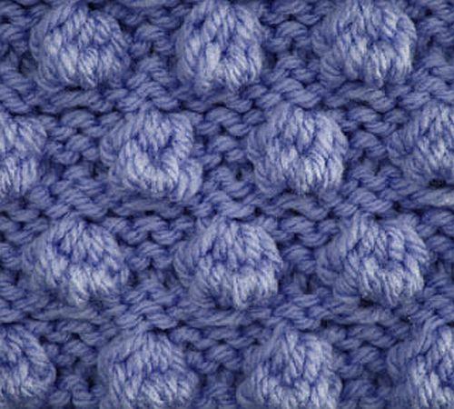 Saturday Stitch: Bobble Stitch knittinggalore
