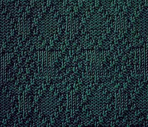 Knitting Stitches Moss : moss stitch knittinggalore
