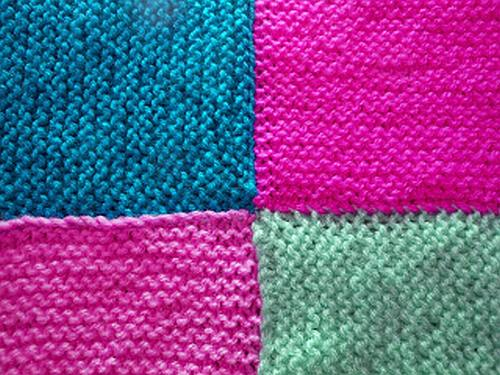 Knitting Patterns Squares : knitted squares knittinggalore