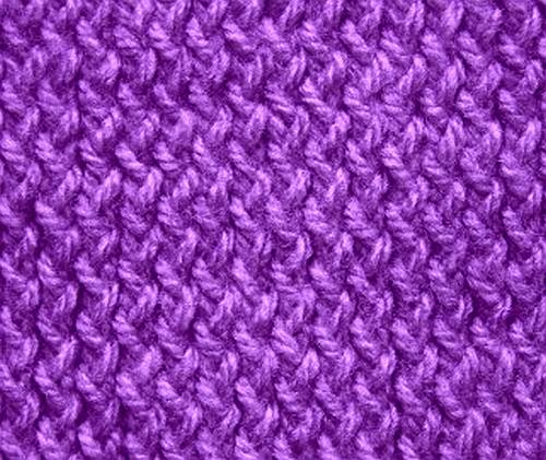 Knitting Stitch Variations : Saturday Stitch: Zig Zag Stockinette Stitch knittinggalore
